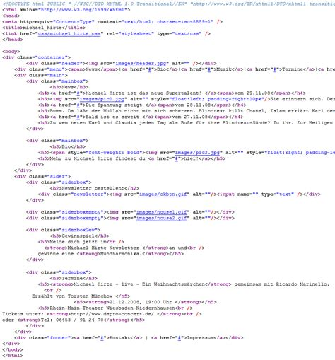 html code get your html home
