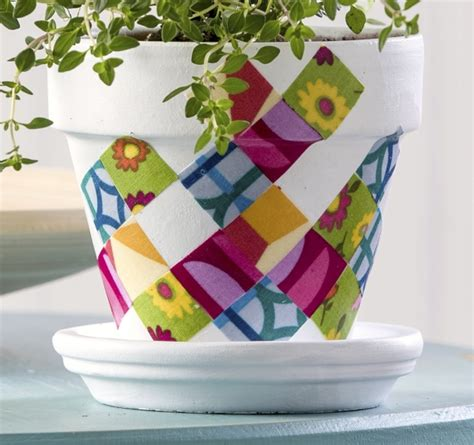 diy mod podge flower pot perk up your planters with 3 diy flower pot ideas thegoodstuff
