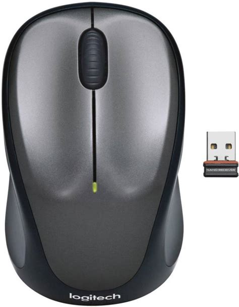 Mouse Wireless Logitech M235 M 235 Original logitech m235 wireless optical mouse logitech flipkart