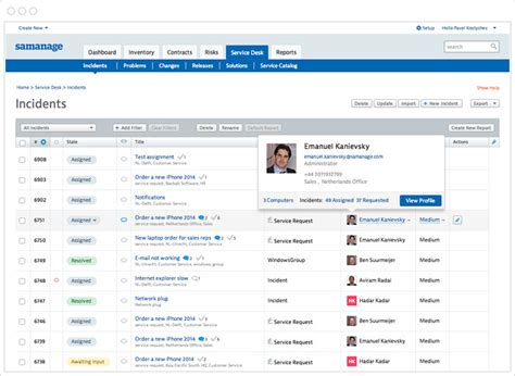 best service desk tools it service management itsm software samanage