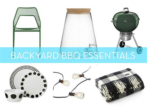 backyard essentials get ready for summer with these 13 backyard bbq essentials