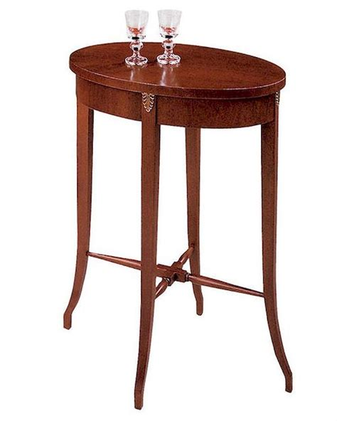 oval accent tables hekman oval accent table he 560070095