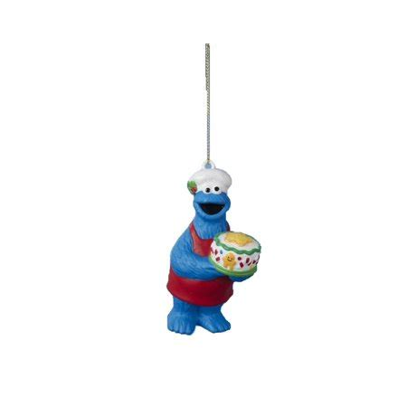 kurt adler christmas sesame yard characters 3 75 quot sesame cookie decorative character ornament walmart
