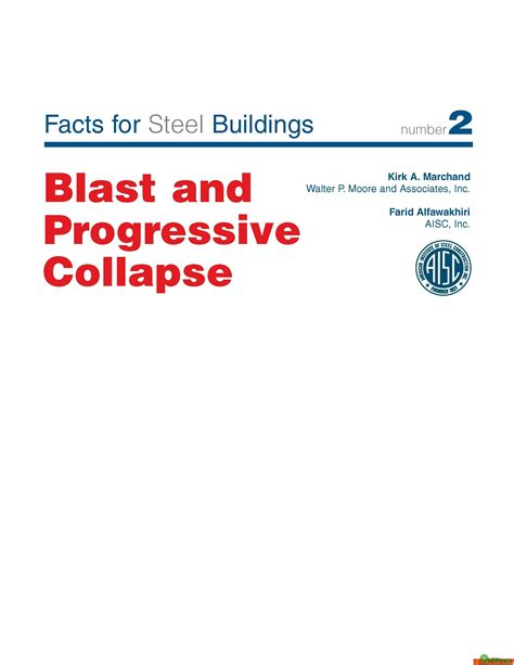 progressive collapse of structures second edition books facts for steel buildings blast and progressive collapse