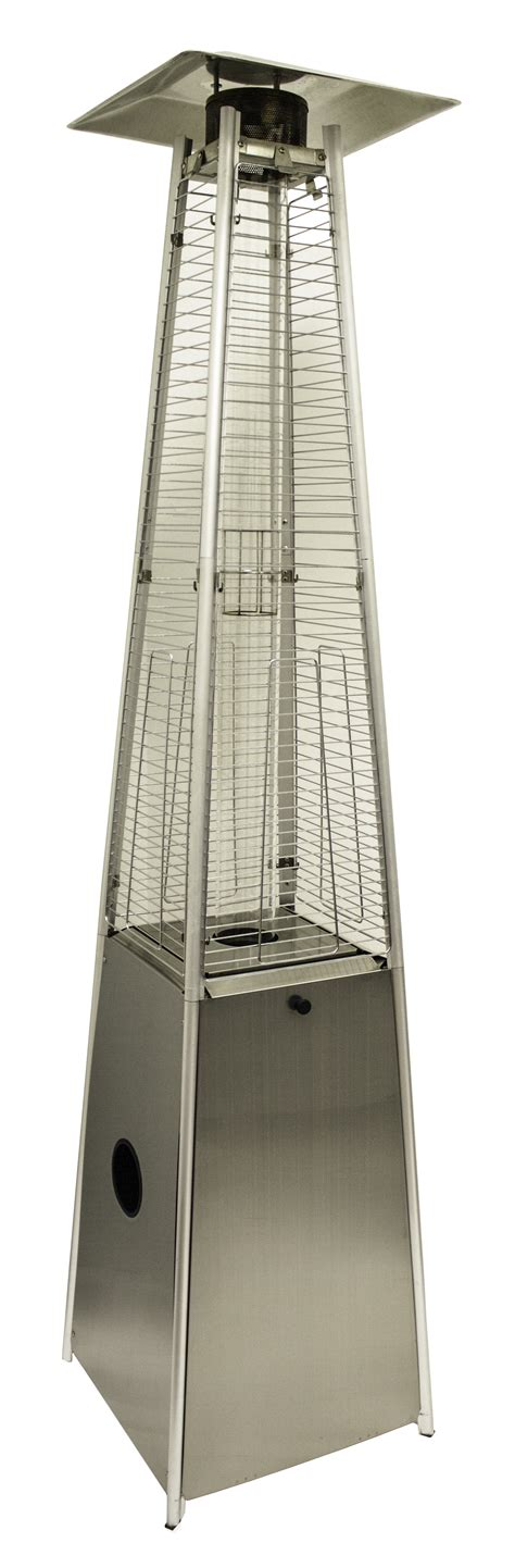 91 Quot Tall Stainless Steel Patio Heater With Quartz Glass Tube Wholesale Patio Heaters