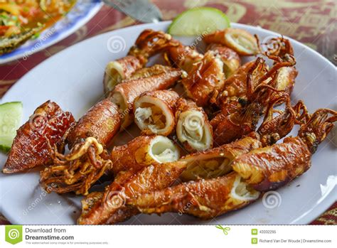 Nature Stek Di Malaysia nourriture asiatique riz frit avec des fruits de mer