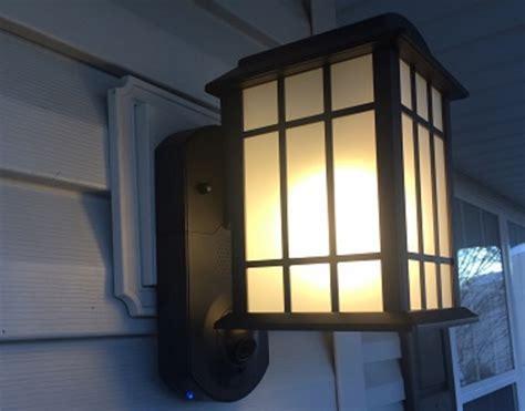 exterior light with camera security camera outdoor light tested kuna