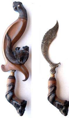 Kukri Tribal 02 traditional kerambit karambit indonesia ethnic pencak silat biker secret weapon traditional