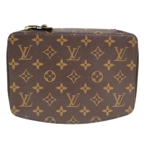 louis vuitton monogram s storage jewelry carryall