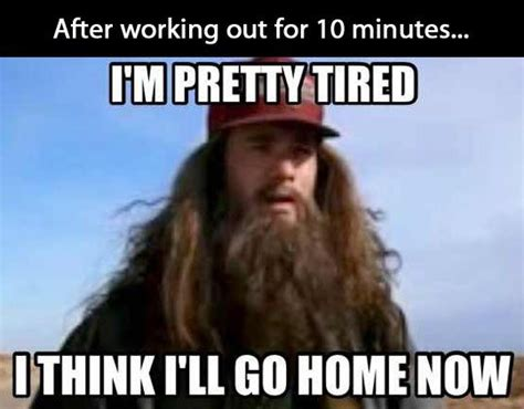 Working Out Meme - funny tired at work memes