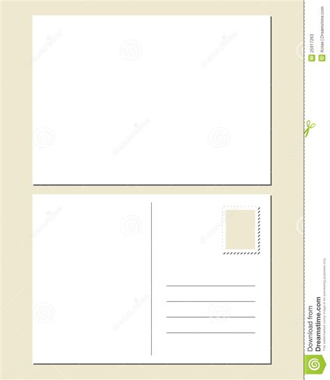 postcard template front and back blank postcard template calendar template 2016