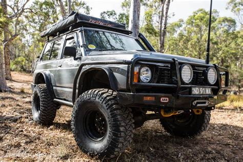 nissan patrol 1990 modified ford maverick 4x4 swb modified