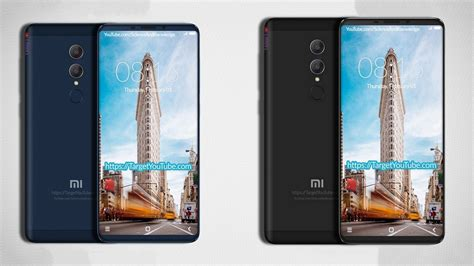 Handphone Xiaomi Redmi Note 5 xiaomi redmi note 5 leaks out in digital renders hinting at dual cameras and near bezel less