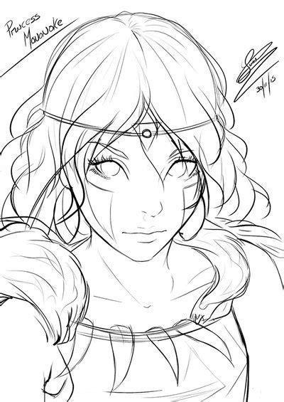 princess mononoke coloring pages princess mononoke sketch by adovionart on deviantart