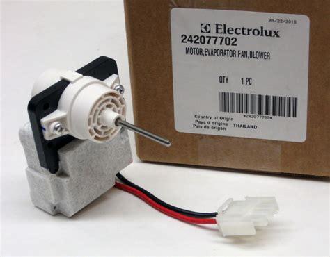 refrigerator evaporator fan motor refrigerator evaporator fan motor electrolux frigidaire