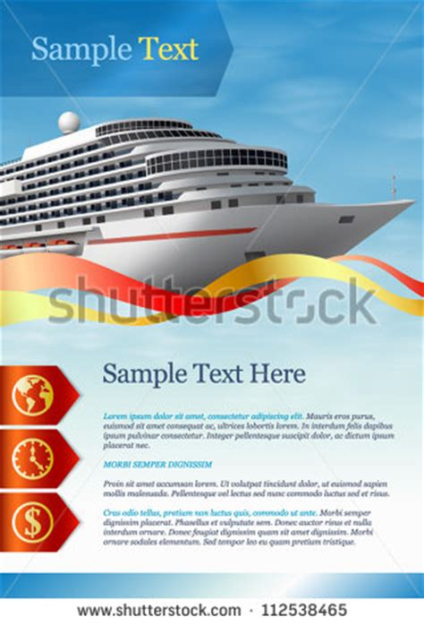 Flyer Template Category Page 42 Efoza Com Free Cruise Ship Flyer Template