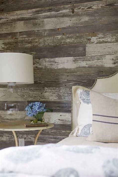 rustic cottage bedroom  barn board wall bedrooms
