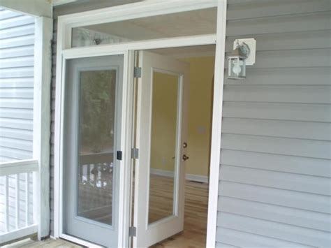 atrium door and transom home