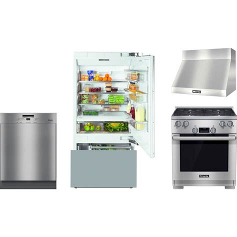 miele kitchen appliances miele kitchen package with hr1124g gas range kf1803sf