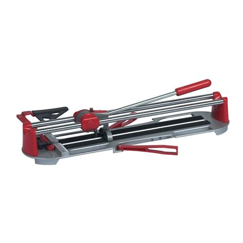 glass tile cutter qep 35 in rip and 24 in diagonal porcelain and ceramic tile cutter 10900q the home depot