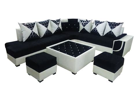 sofa set with felicite l shape sofa set center table and 2