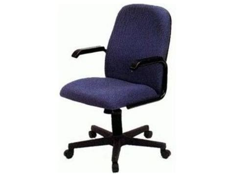 Material Mid Back Office Chair With Arms and Wheels   Office Furniture Rentals   Office