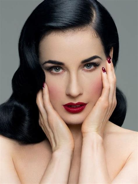hair and makeup blogs classic pin up makeup worn so well by miss dita does this