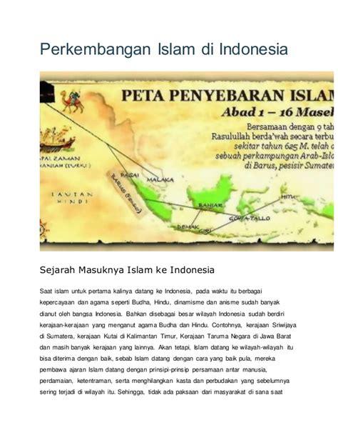 film sejarah perkembangan islam di indonesia perkembangan islam di indonesia