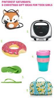 Pinterest saturdays 6 christmas gift ideas for teen girls on style