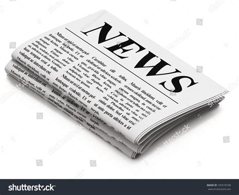newspapers background stock illustration 294853400 newspaper on white background 3d render stock illustration 105518108