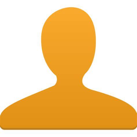 design icon orange user orange icon flatastic 4 iconset custom icon design