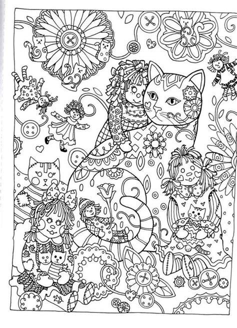 nightfall coloring book colouring 1423649168 kolorowanki dla dorosłych koty do wydruku część 2