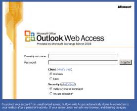 office outlook web access publish outlook web access owa using isa 2006 david