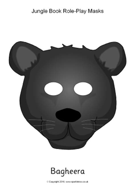 jungle mask templates jungle animals primary teaching resources and printables