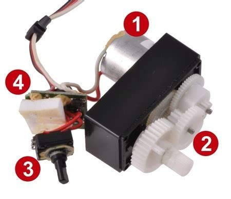 pololu continuous rotation servos and multi turn servos