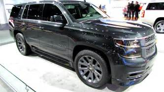 2015 chevrolet tahoe ltz black edition exterior