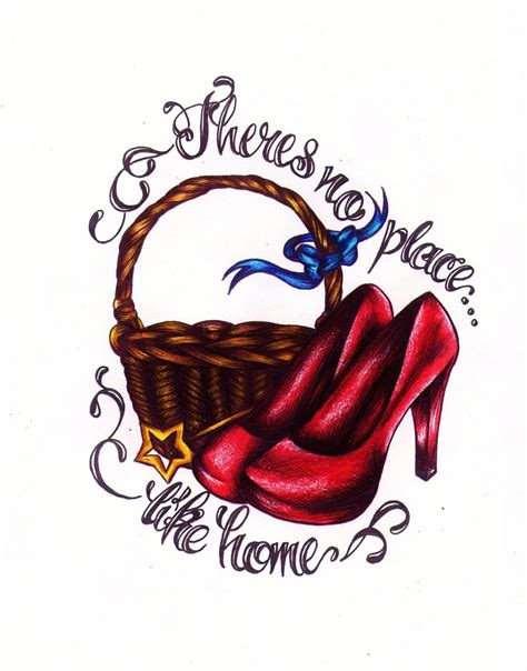 wizard of oz tattoos wizard of oz shoe quotes quotesgram