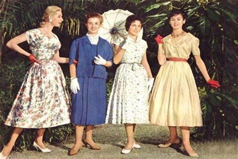 imagenes retro años 50 moda anos 50 d 233 cadas da moda nada fr 225 gil