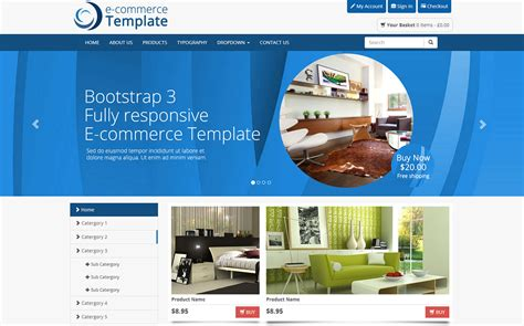 bootstrap ecommerce templates bootstrap ecommerce template bootstrap themes on