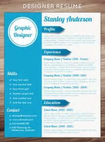 Creative resumes graphic design bing images