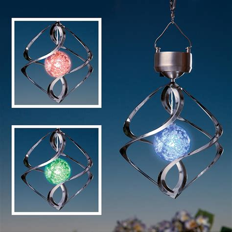 solar light wind spinners bicycle wind spinner with solar light 28 images
