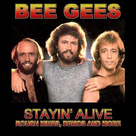 stayin alive bee gees demos
