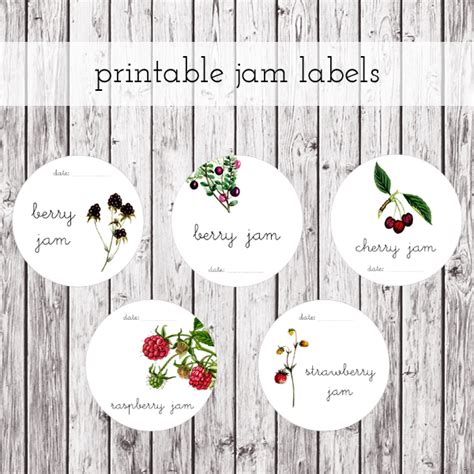 jelly jar label template free printable labels for jam jars www proteckmachinery