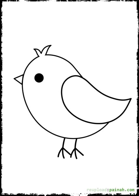 coloring pages cute birds baby bird coloring pages