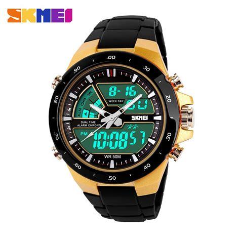 Skmei Jam Tangan Analog Digital Pria Ad1064e skmei jam tangan digital analog pria ad1016 golden jakartanotebook