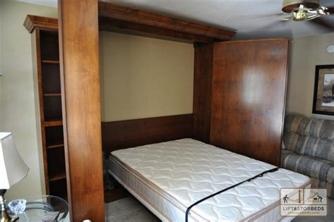 wall to wall bed murphy bed open