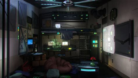 Futuristic Furniture by Cyberpunk Bedroom By Julxart On Deviantart