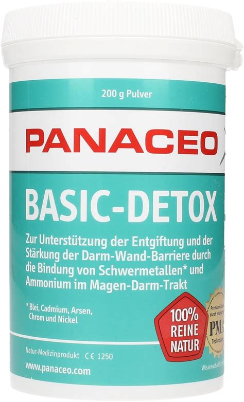 Detox From Soy by Basic Detox Powder Panaceo Vitalabo Shop Europe