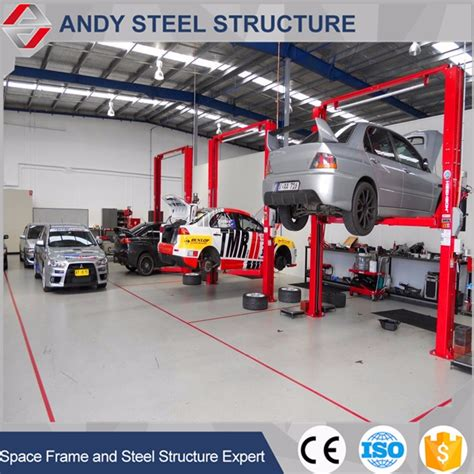 layout of workshop of automobile steel structure auto service workshop layout design buy