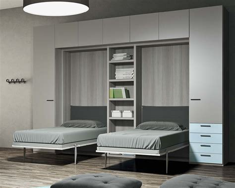 mobili letto salvaspazio camerette trasformabili salvaspazio konvert 174